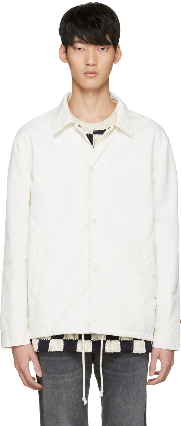 Vans White Our Legacy Edition Coaches Jacket