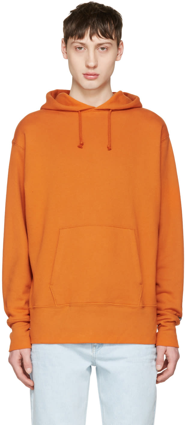 Vans Orange Our Legacy Edition Logo Hoodie