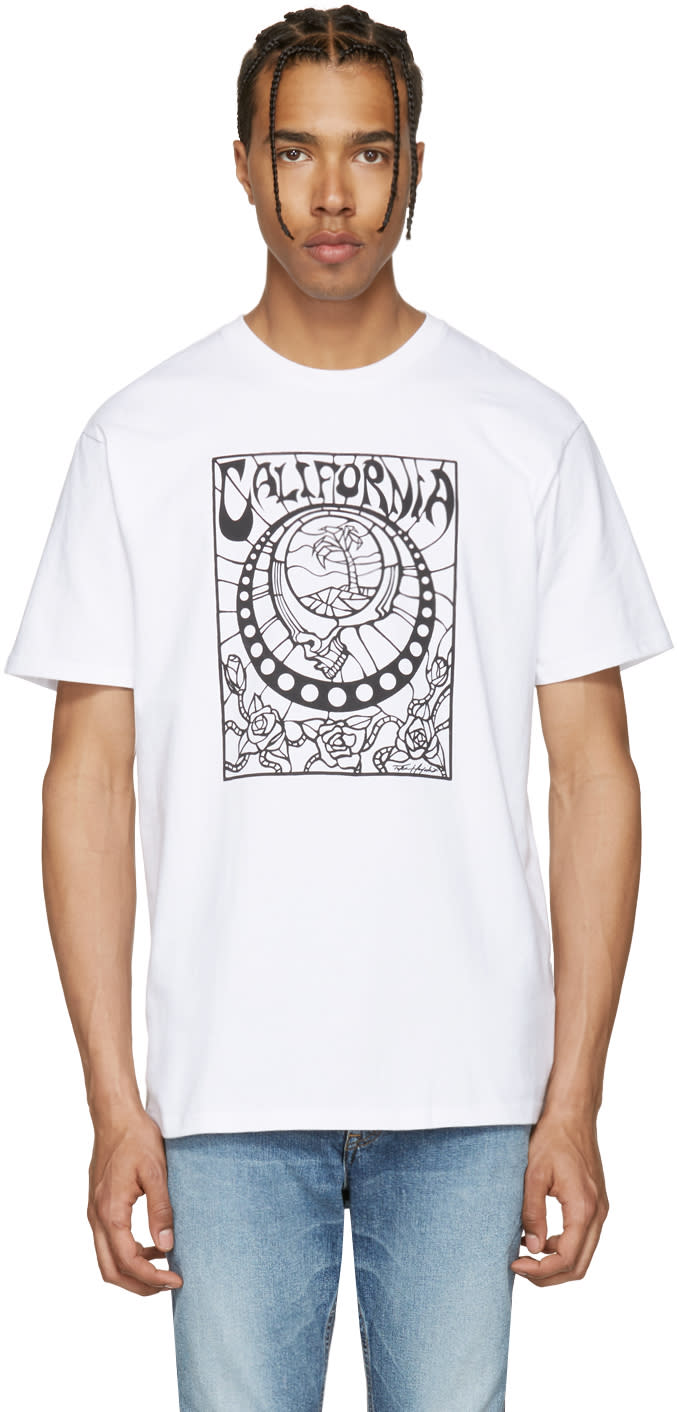 Vans White Taka Hayashi Edition Stained Glass T-shirt