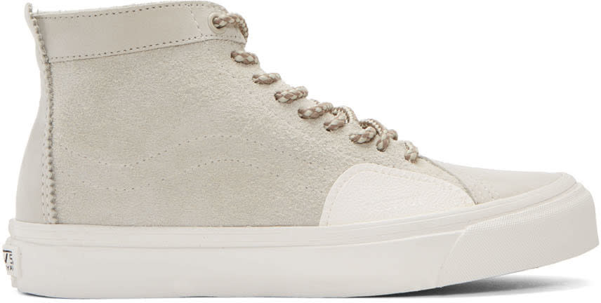 Vans Grey Taka Hayashi Edition Sk8 Skool Lx High-top Sneakers