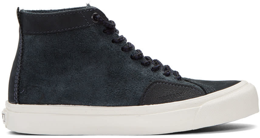 Vans Navy Taka Hayashi Edition Sk8 Skool Lx High-top Sneakers