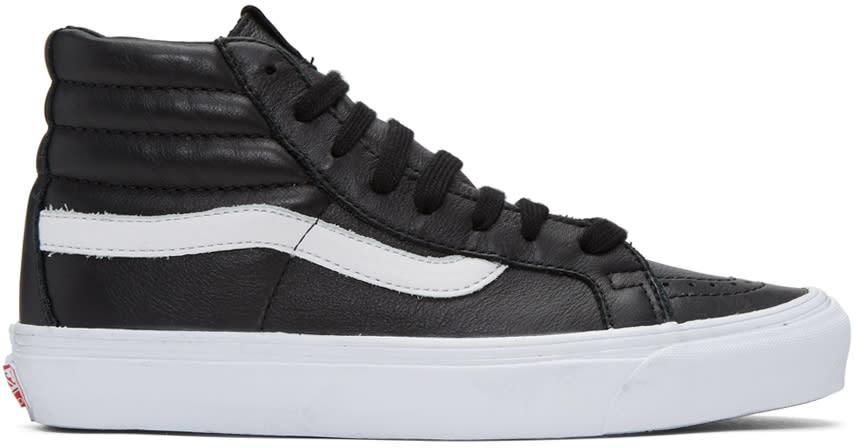 Vans Black Og Sk8 hi Lx Sneakers cb4d485da