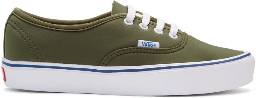 Vans Green Schoeller Edition Authentic 66 Lite Lx Sneakers