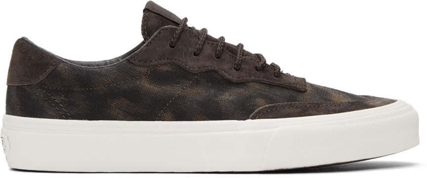 Vans Brown Taka Hayashi Edition Camouflage Mountain Lace Lo Lx Sneakers