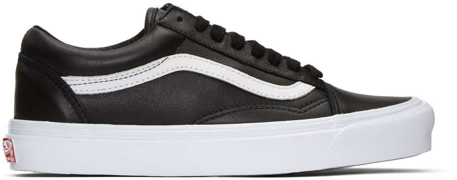 Vans Black Old Skool Lx Sneakers