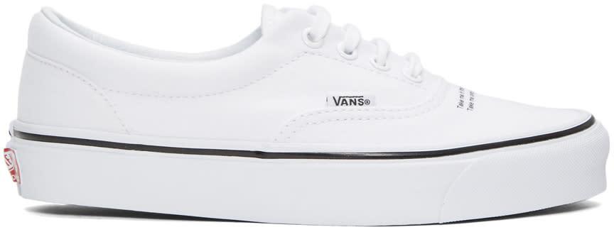 Vans ホワイト Undercover Edition Og エラ Lx スニーカー