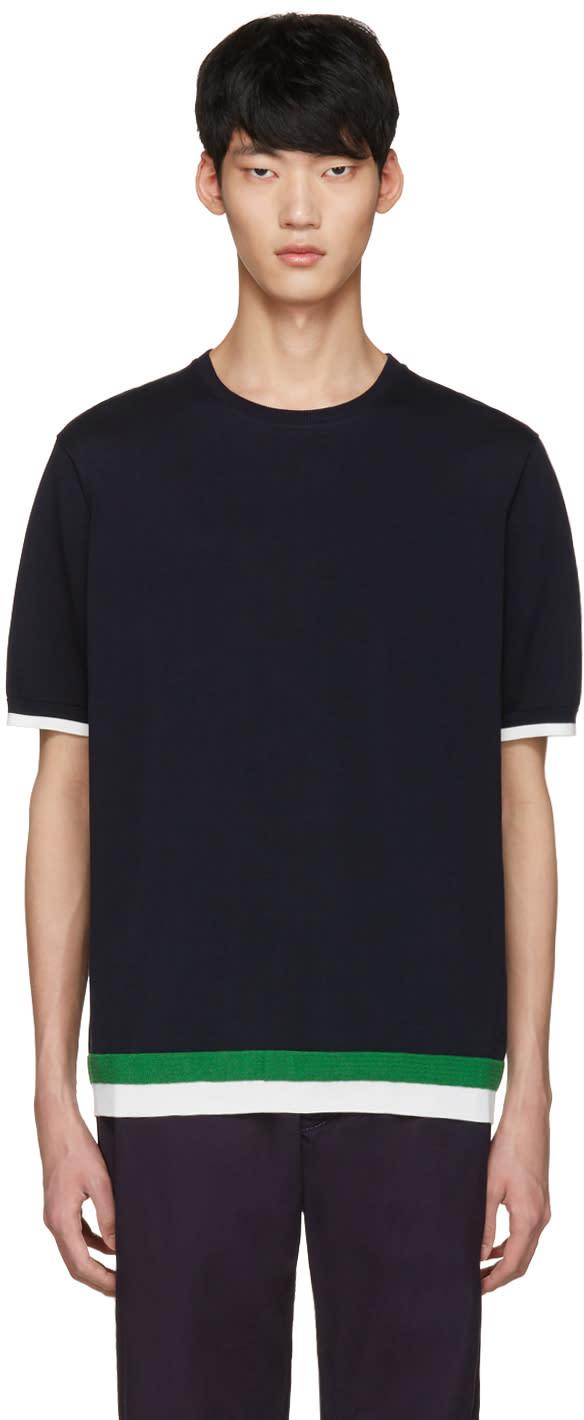 Tomorrowland Navy Basic Tricot T-shirt