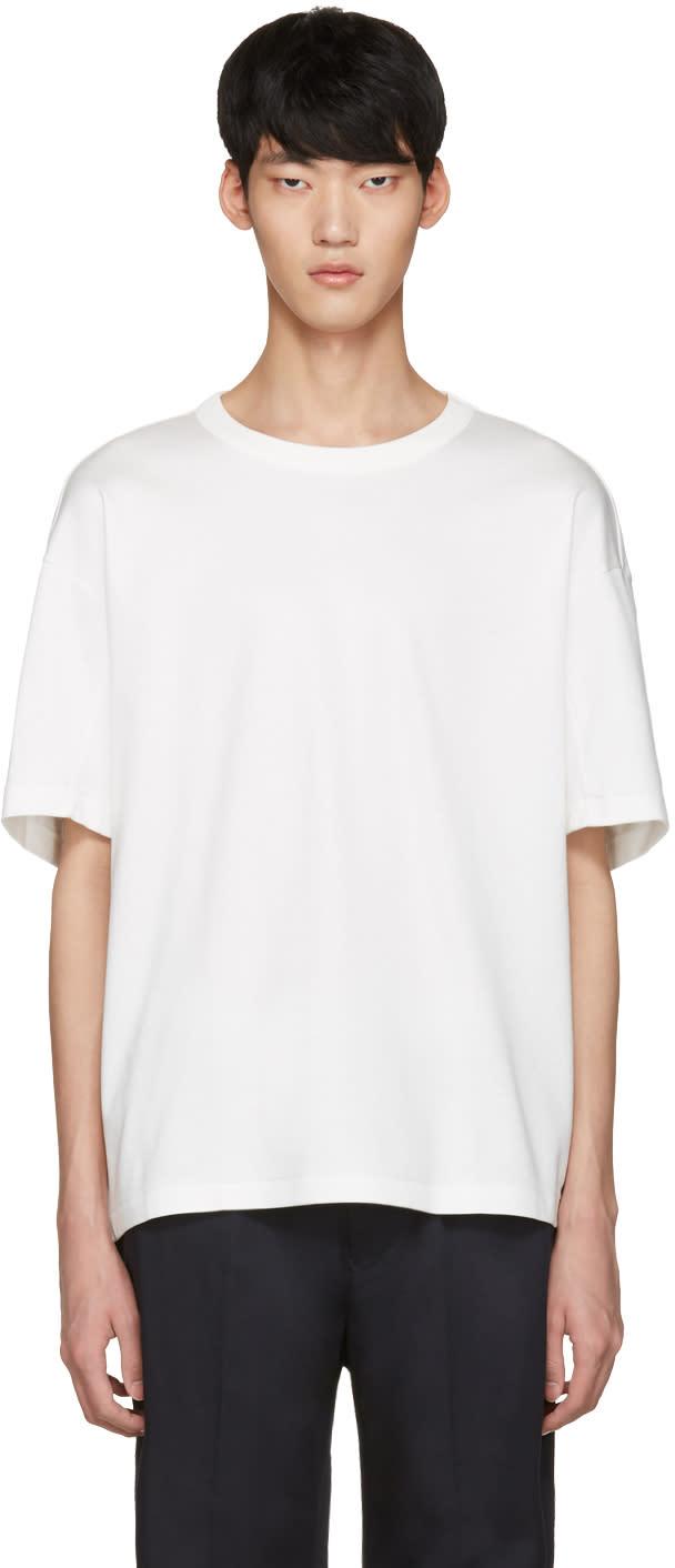 Tomorrowland White Panel Crew T-shirt