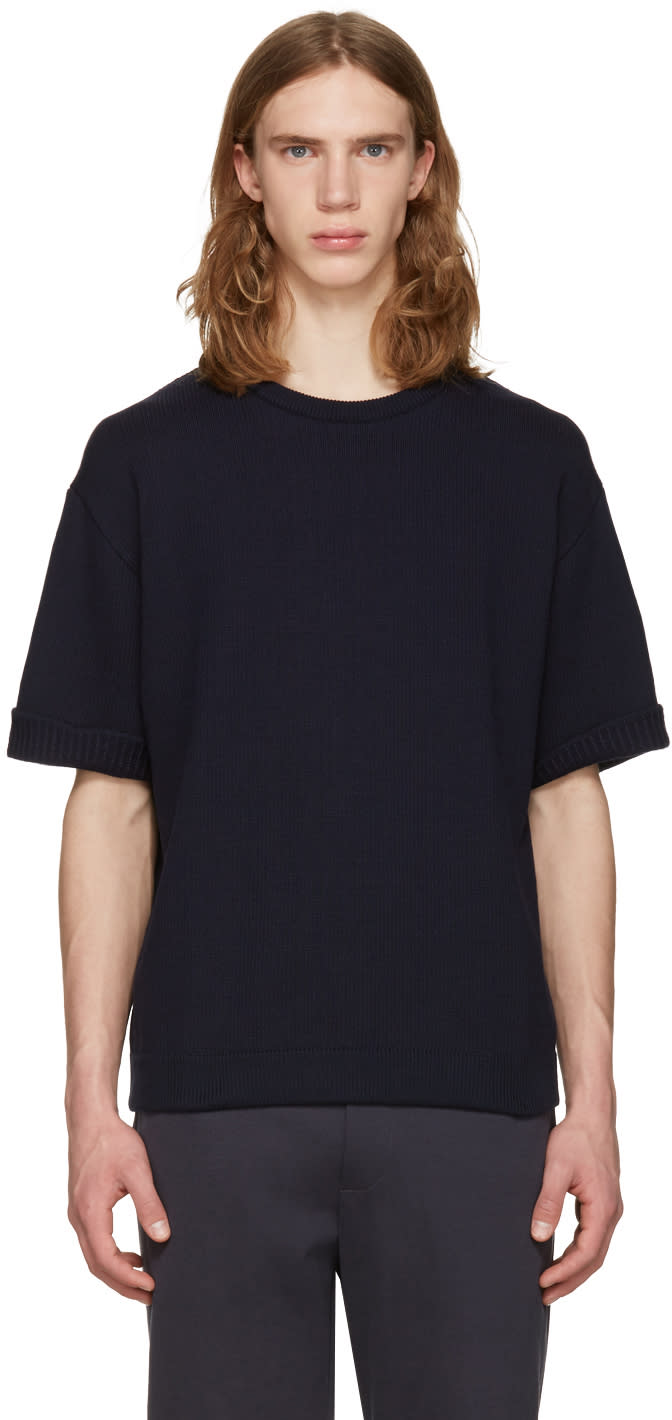 Stephan Schneider Navy Young Pullover