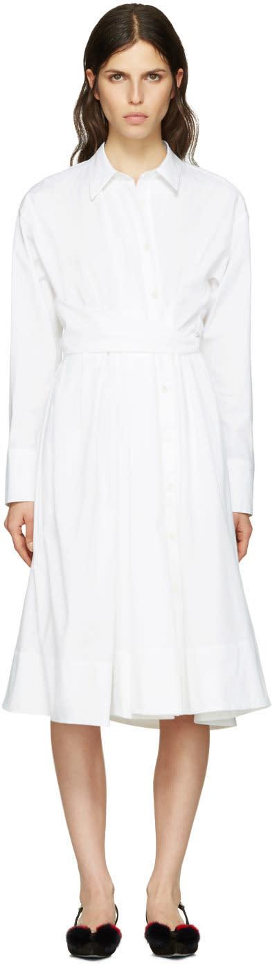 Emilio Pucci White Shirt Dress