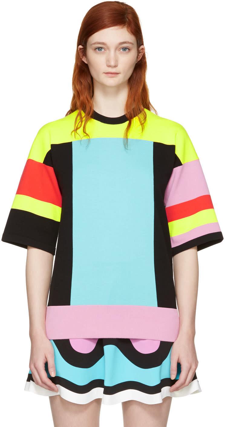 Image of Emilio Pucci Multicolor Colorblock Pullover