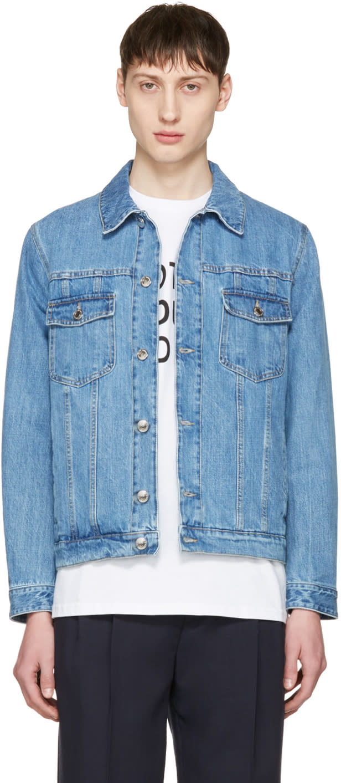 Editions MR Blue Denim Jacket