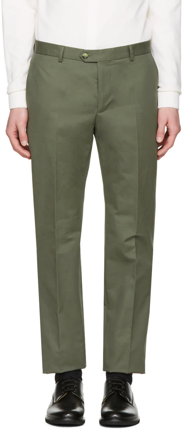Editions MR Green Tailored Chino Trousers