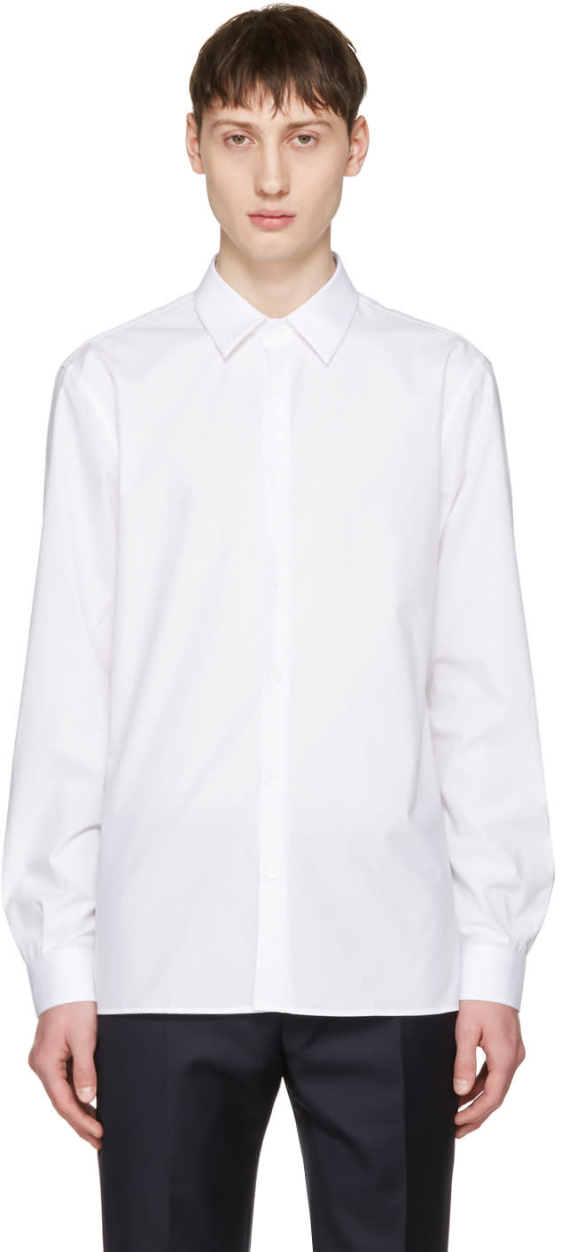 Editions MR White French Collar Shirt