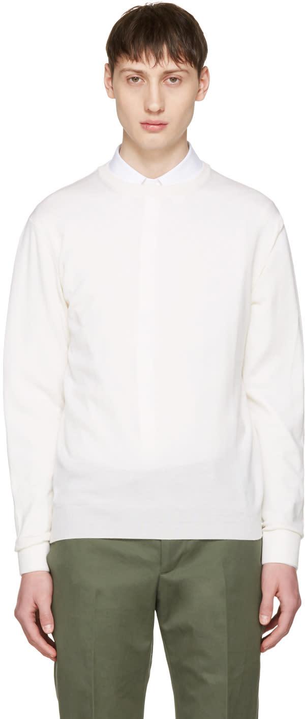 Editions MR Off-white Merino Stanislas Pullover