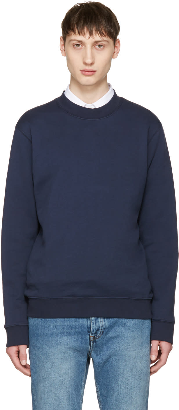 Editions MR Navy Classic Pullover