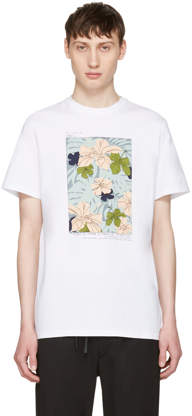Editions MR White Flower Shirt