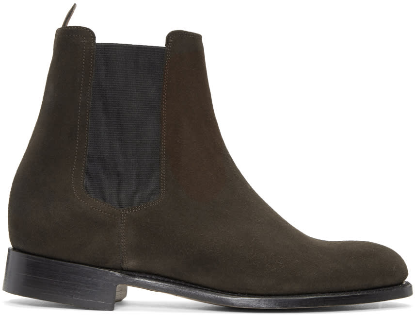 Editions MR Brown Chelsea Boots