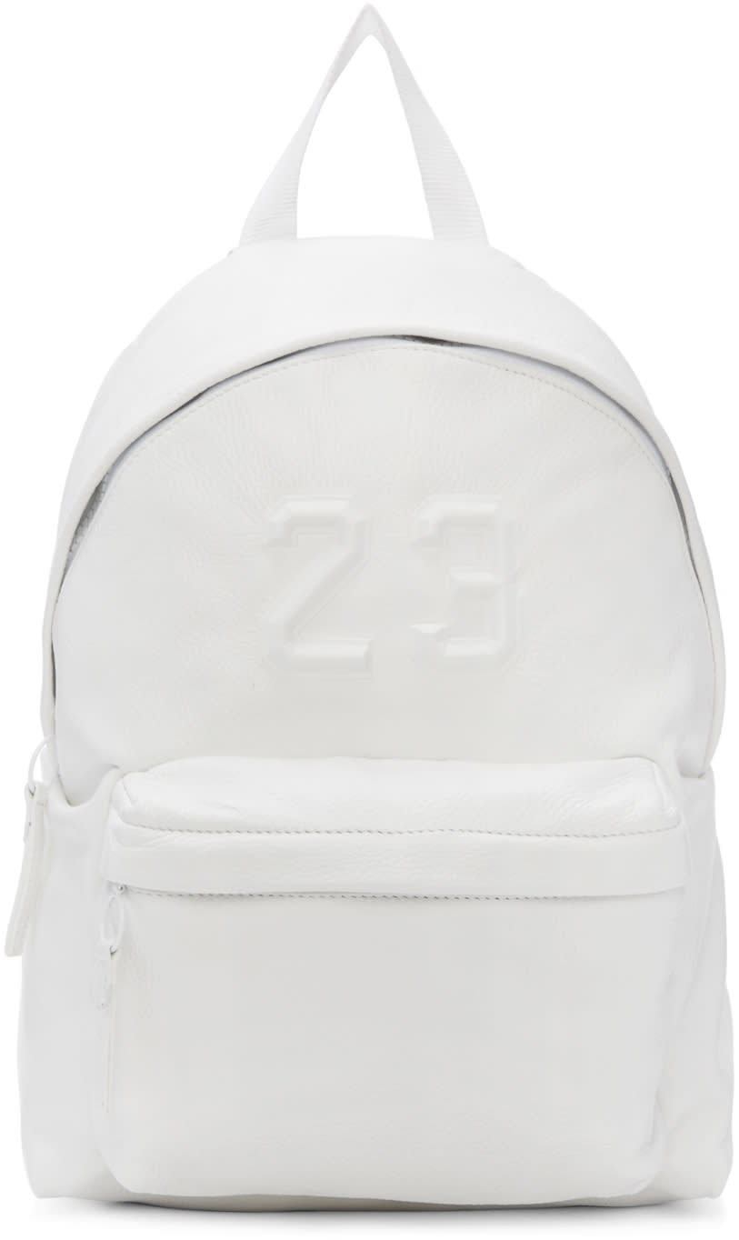 Joshua Sanders White 23 Backpack