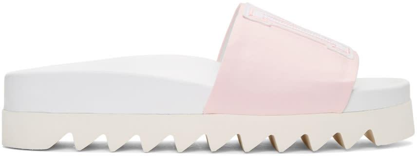 Joshua Sanders Pink Satin Ny Sandals