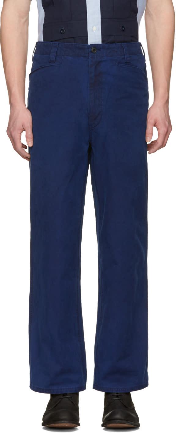 Blue Blue Japan Indigo Engineer Trousers