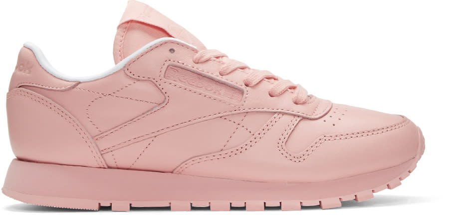 Reebok Classics Pink Classic Leather Pastels Sneakers