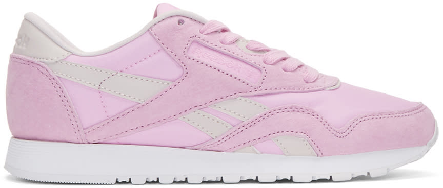 Reebok Classics Pink Face Edition Kindness Classic Sneakers