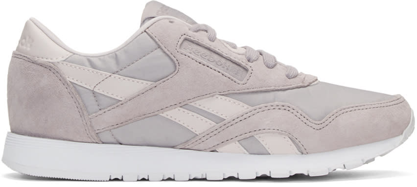 Reebok Classics Grey Face Edition Kindness Classic Sneakers