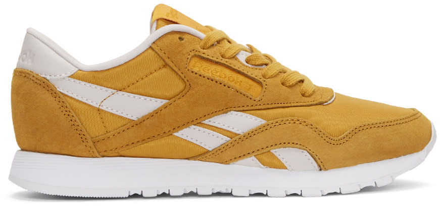 Reebok Classics Yellow Face Edition Kindness Classic Sneakers