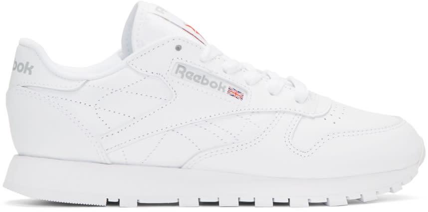 Reebok Classics White Leather Classic Sneakers
