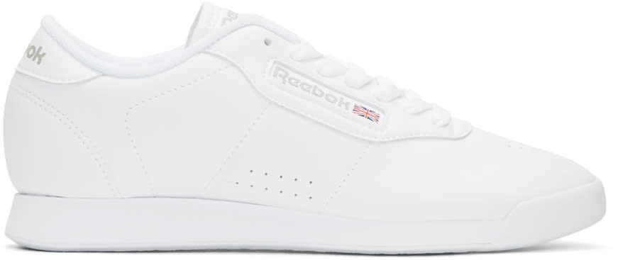 Reebok Classics White Princess Sneakers