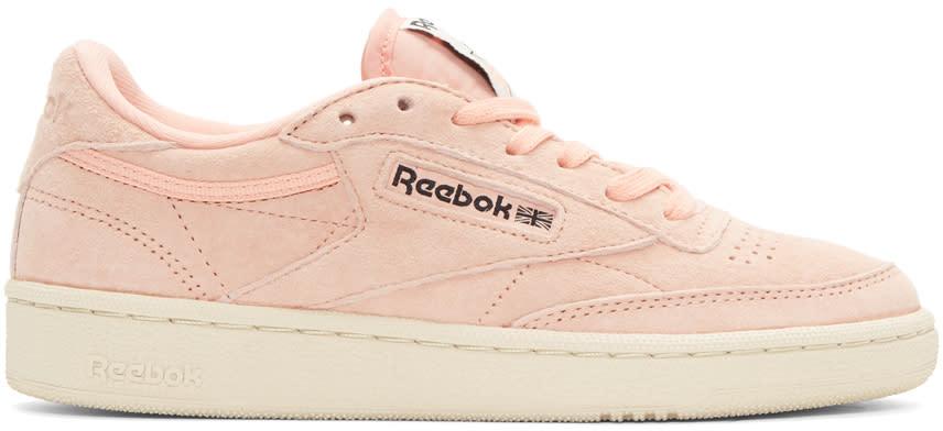 Reebok Classics Pink Club C Pastel Sneakers