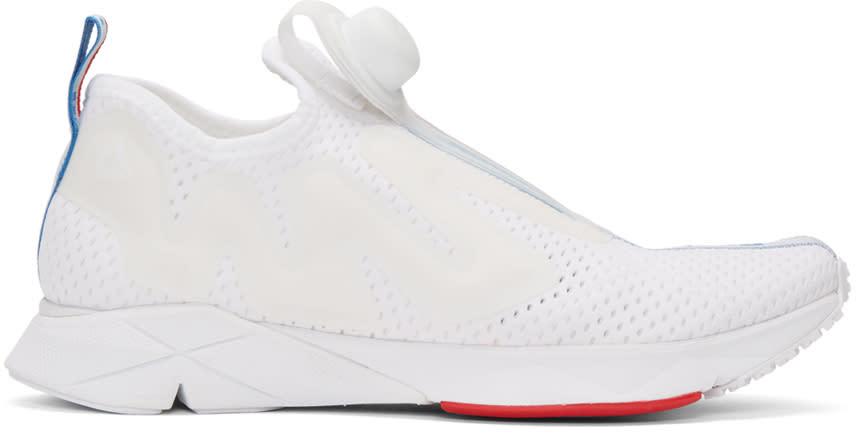 Reebok Classics White Pump Supreme Jaqtape Sneakers