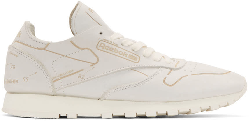 Reebok Classics Off-white Leather Cl Hmg Sneakers