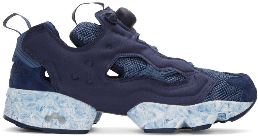 Reebok Classics Navy Instapump Fury Mtp Sneakers