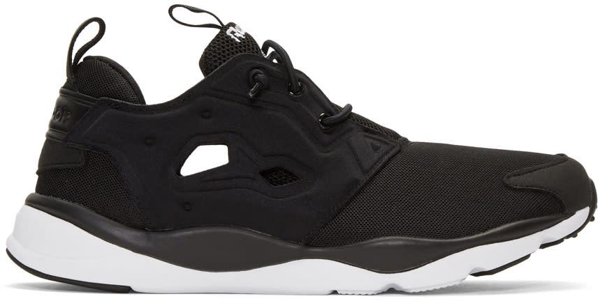 Image of Reebok Classics Black Furylite Sneakers