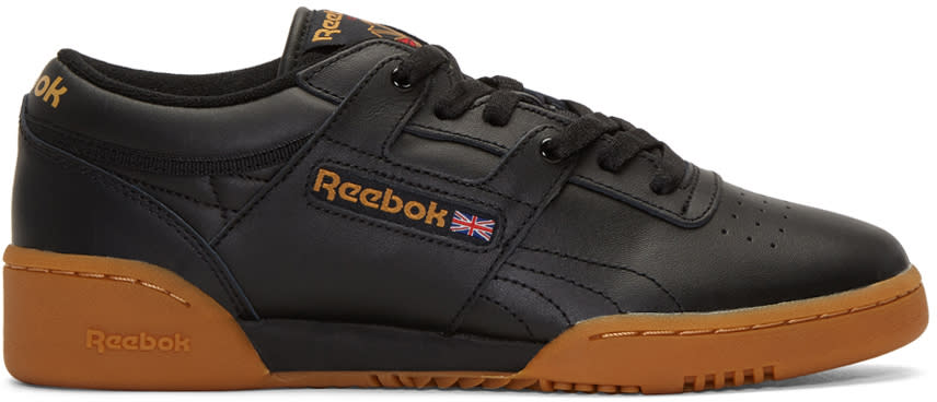 Reebok Classics Black Workout Sneakers