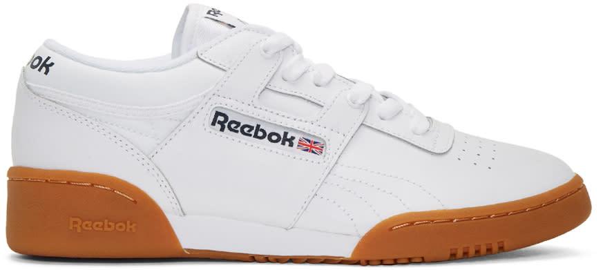 Reebok Classics White Workout Sneakers
