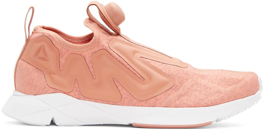 Reebok Classics Pink Pump Supreme Guerilla Sneakers