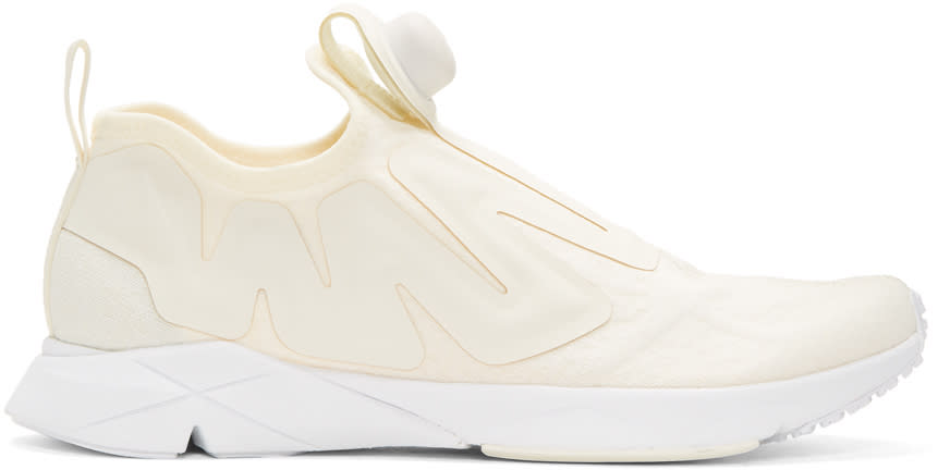 Reebok Classics Off-white Pump Supreme Guerilla Sneakers