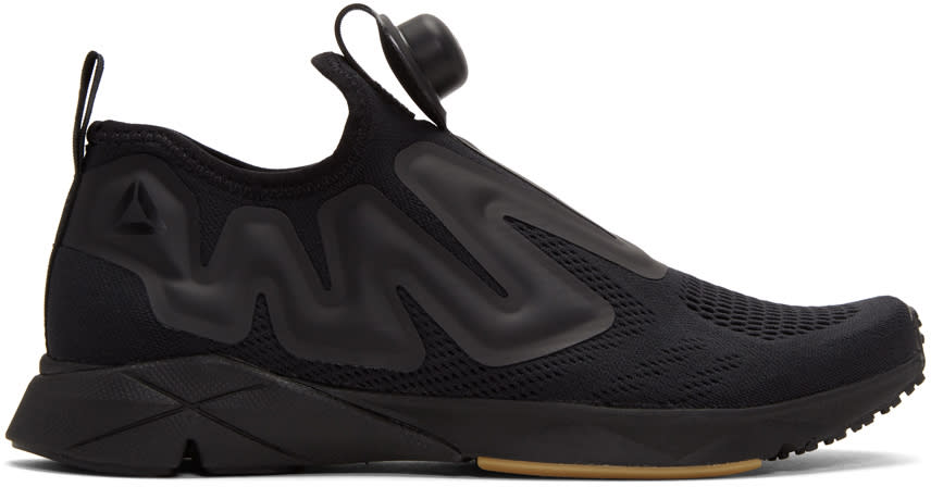 Reebok Classics Black Pump Supreme Engineers Sneakers