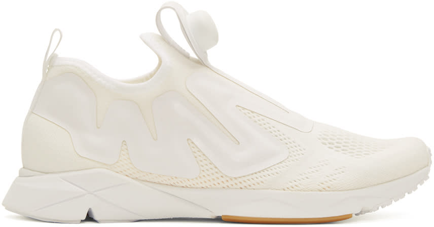 Reebok Classics White Pump Supreme Engineers Sneakers