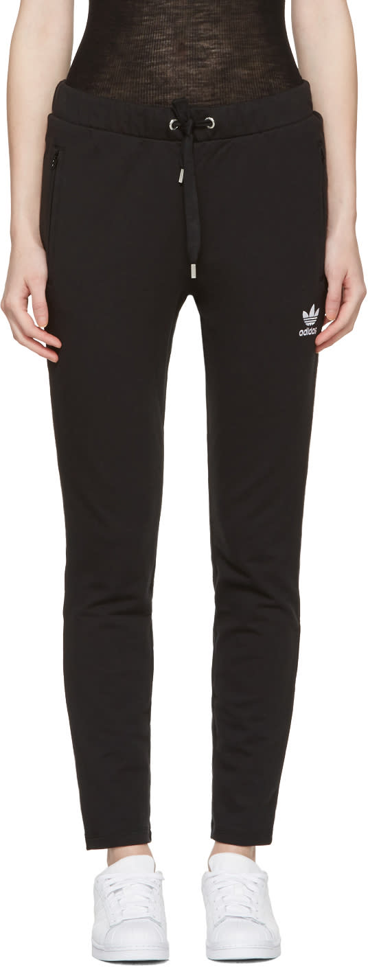 Adidas Originals Black Slim Lounge Pants