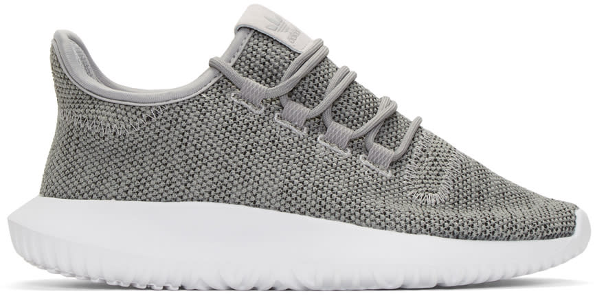Adidas Originals Grey Tubular Shadow Sneakers