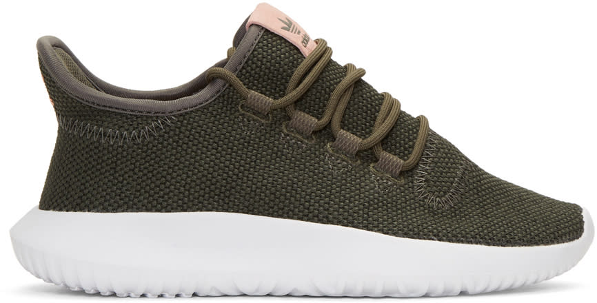 Adidas Originals Green Tubular Shadow Sneakers