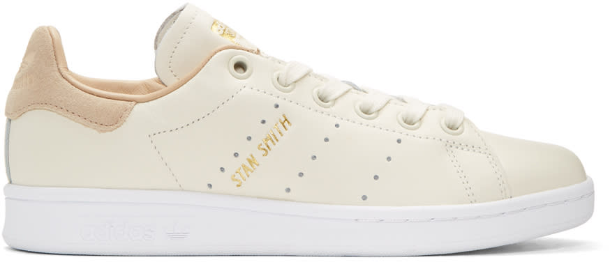 Adidas Originals Off-white Stan Smith Premium Sneakers