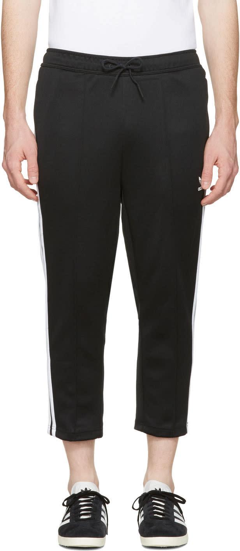 Adidas Originals ブラック Sst クロップ ラウンジ パンツ