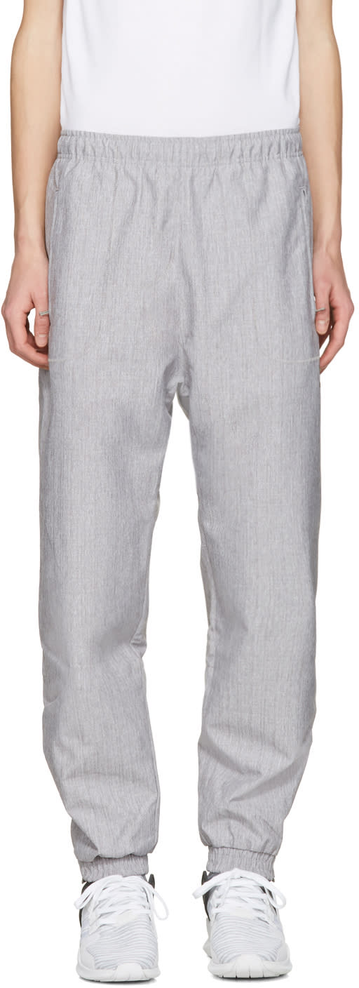 Adidas Originals Grey Orinova Wind Lounge Pants