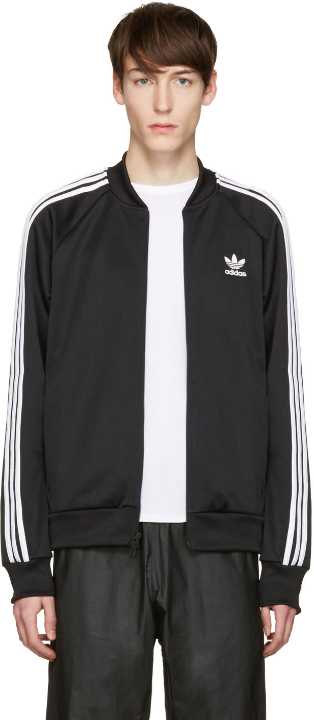 Adidas Originals Black Sst Relax Track Jacket