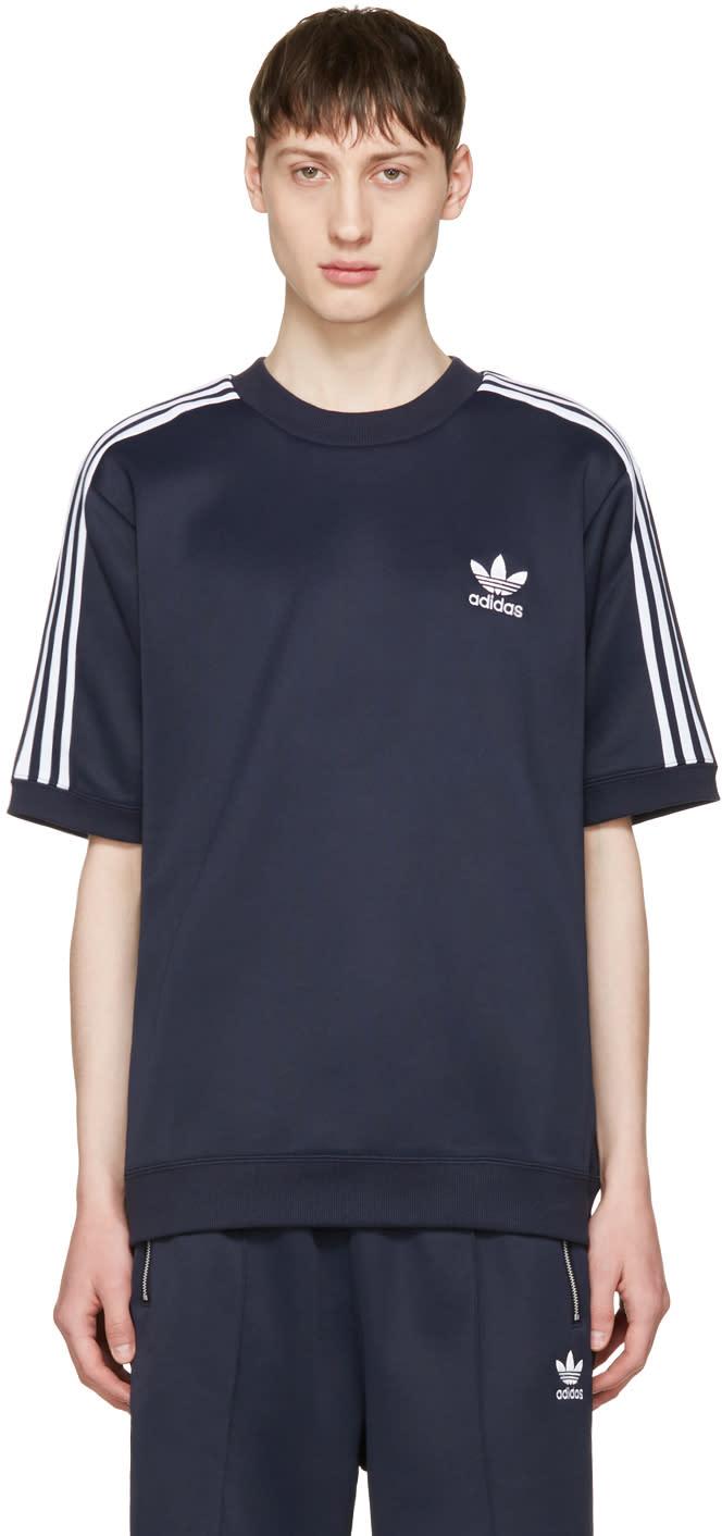 Adidas Originals Navy Cntp Crew Pullover